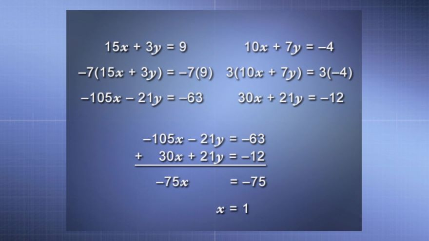 Systems of Linear Equations, Part 2