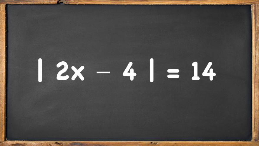 Solving Equations Involving Absolute Values