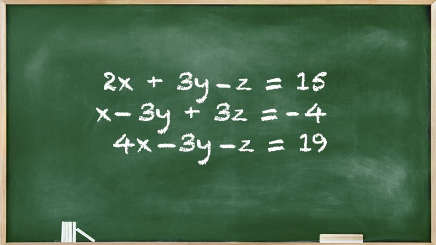Systems of 3 Linear Equations