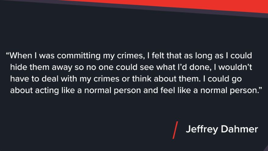 Isolation of a Zombie Maker: Jeffrey Dahmer