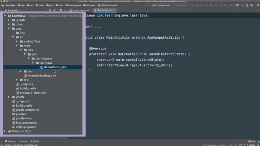 Create Your First Java Program!