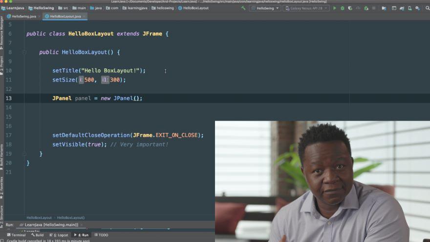 Java Swing: BoxLayout