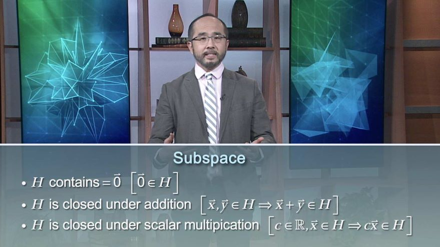 Subspaces: Special Subsets to Look For