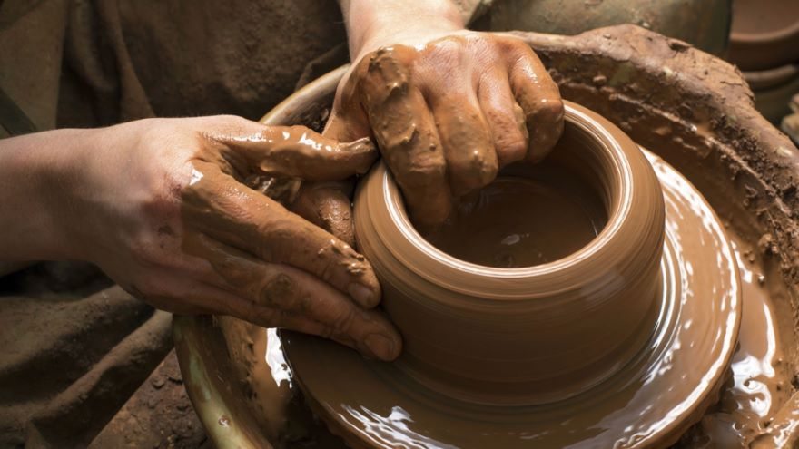 The Potter's Wheel and Metallurgy