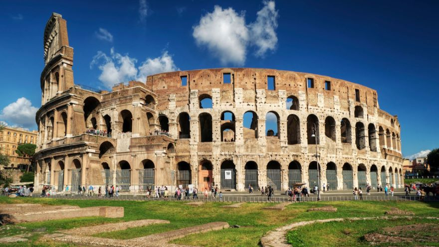 Roman Arches-Aqueducts and the Colosseum