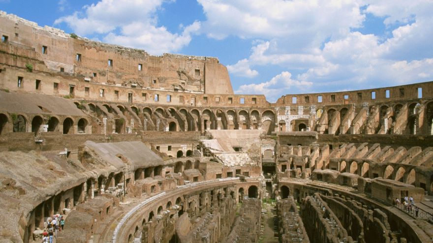 Construction in Transition-The Colosseum