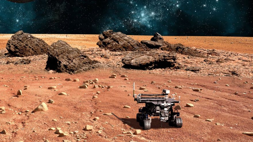 Space Robots in Orbit and on Other Worlds