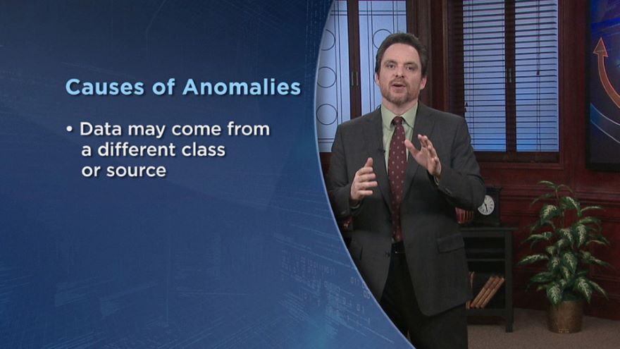 Anomalies and Breaking Trends