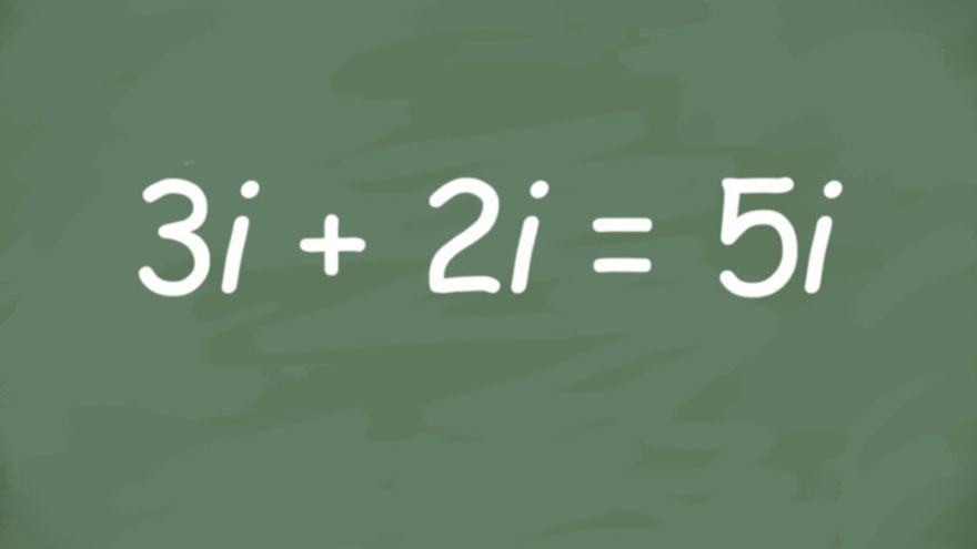 The Joy of the Imaginary Number i