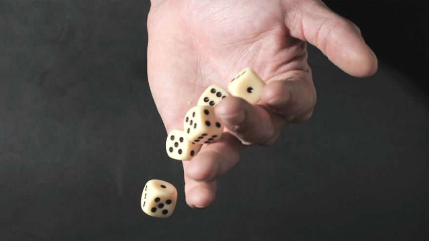 A Random Walk-Dealing with Chance Events