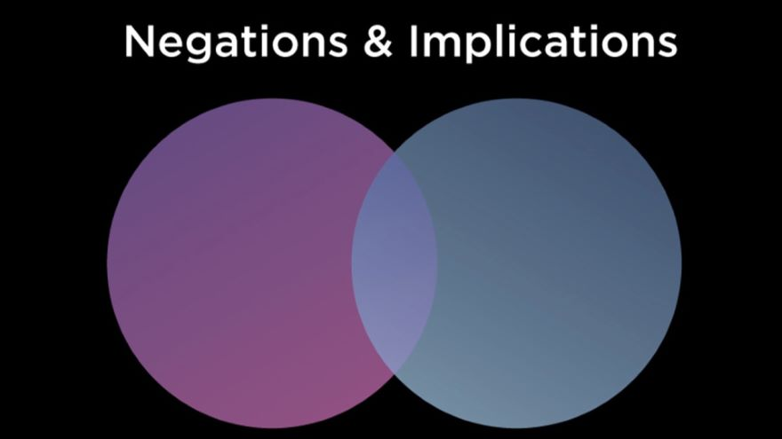 More Blocks-Negations and Implications
