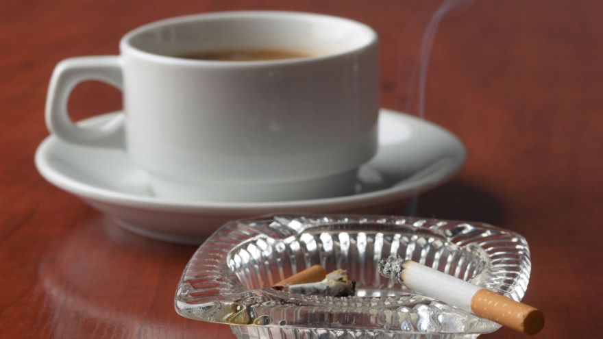 Why We Crave Coffee and Cigarettes
