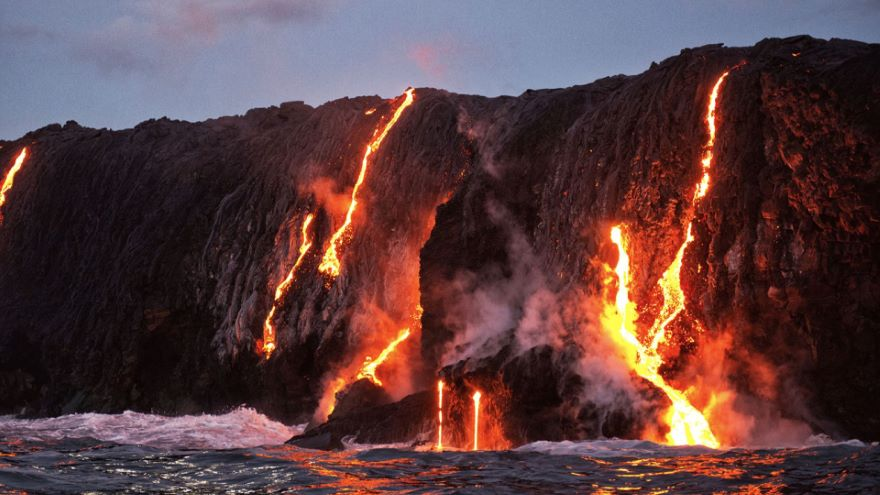 Hawaii Volcanoes: Earth's Largest Mountains