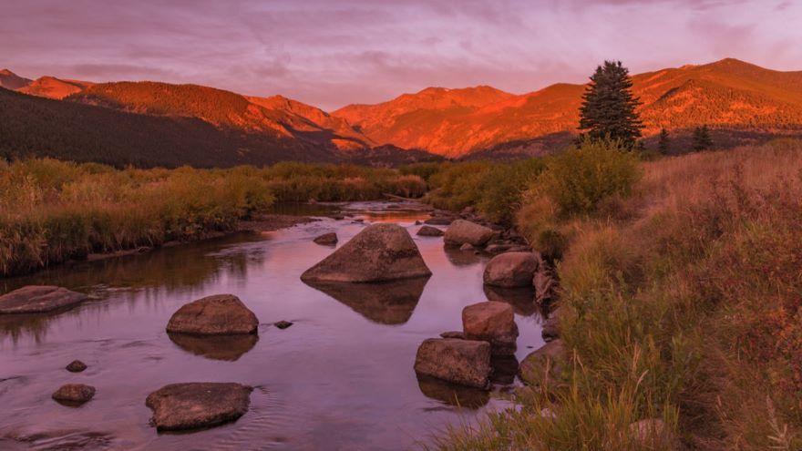 The Colorado Rocky Mountains