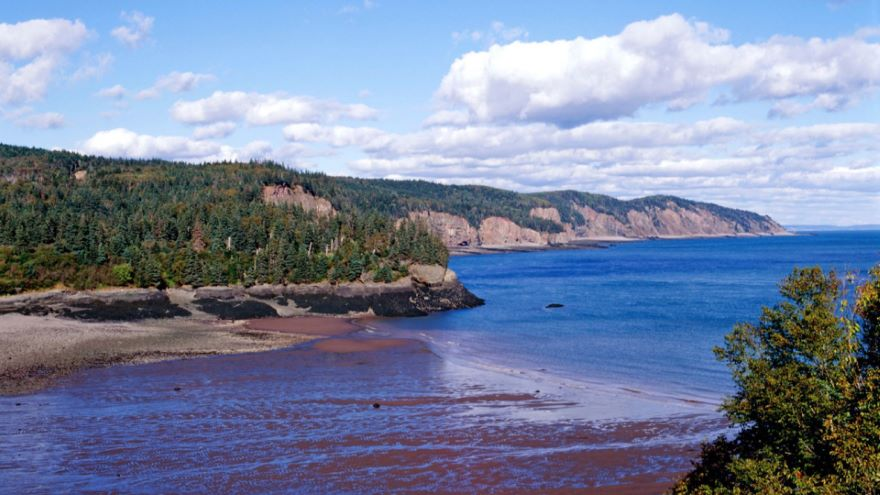 Bay of Fundy-Inexorable Cycle of Tides