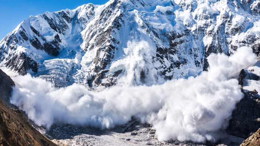 Mountain Windstorms and Avalanches
