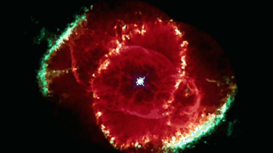 The Cat's Eye Nebula-A Stellar Demise