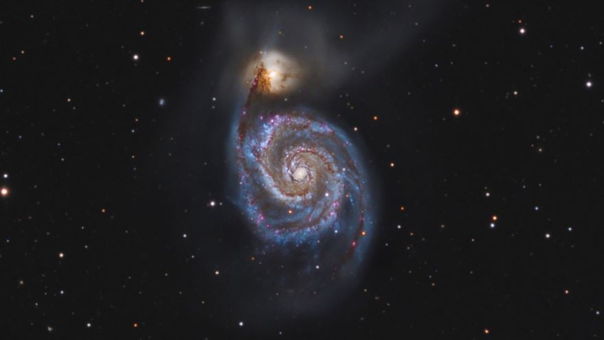 The Antennae Galaxies-A Cosmic Collision
