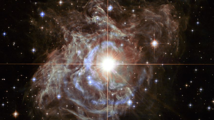 The Interstellar Echo of a Variable Star