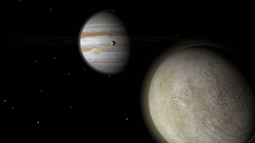 The Ice Moons Europa and Enceladus