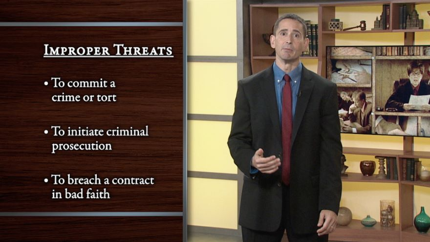 Defenses to Contract: Fraud and Duress