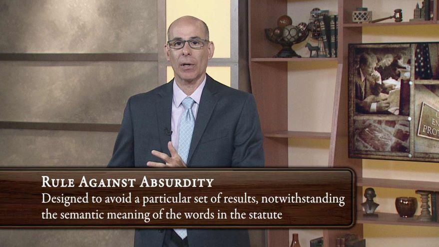 Semantic and Substantive Interpretive Rules