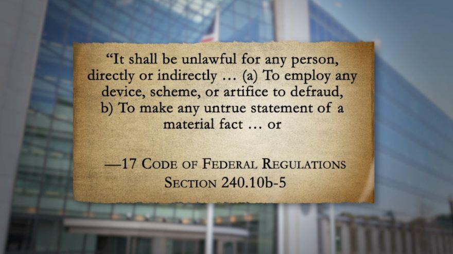 Securities Regulation and Fraud