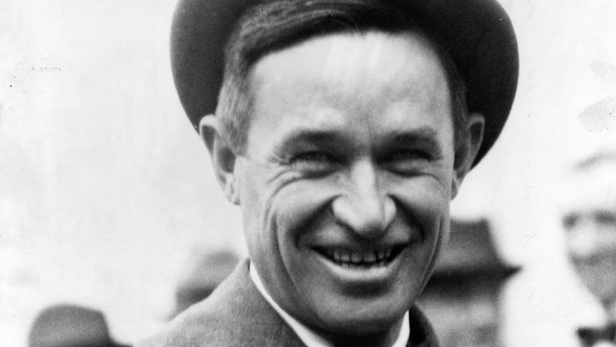Find Your Humorous Voice-Will Rogers