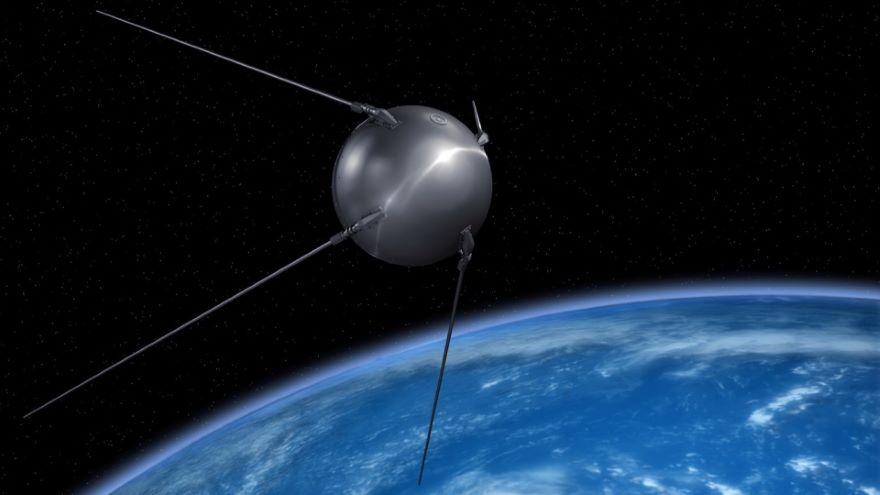 Sputnik Launches the Science-Math Race
