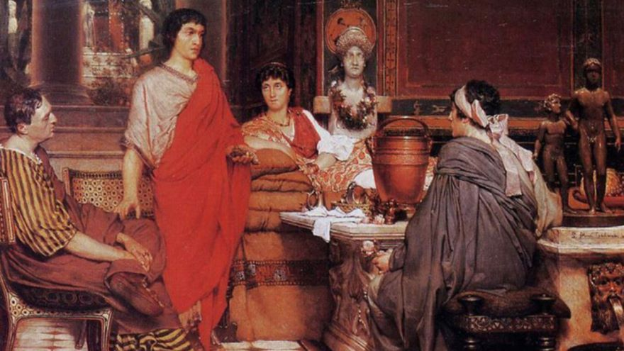 Reading a Famous Latin Love Poem