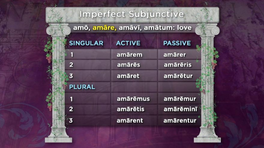 The Imperfect and Future Tenses