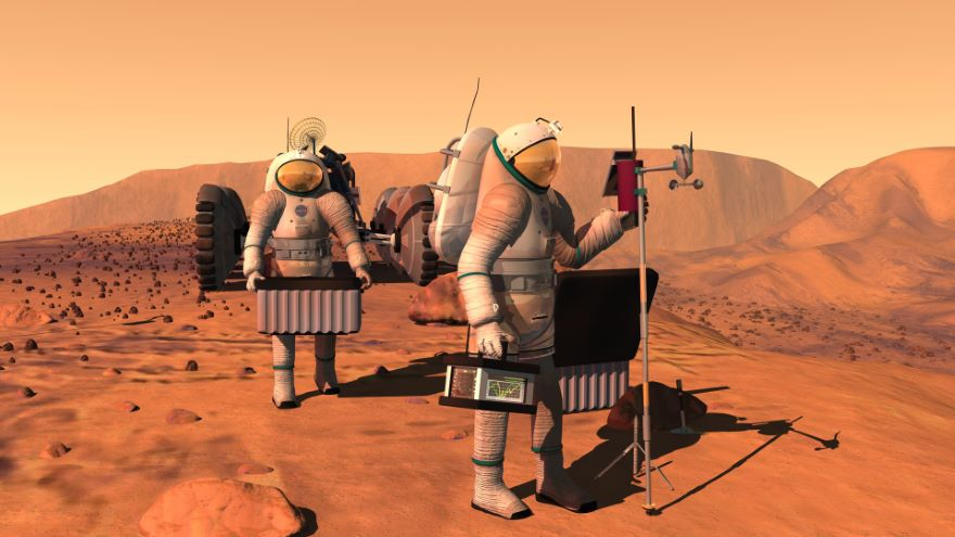 Interplanetary Travel and The Martian