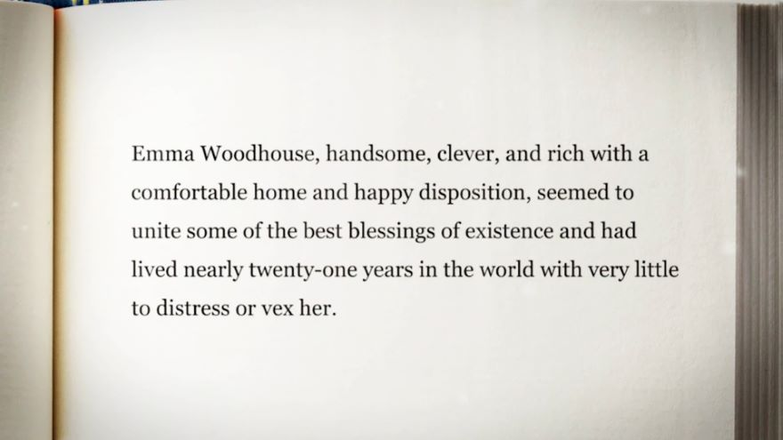 Emma: Better Than the Best English Novel?