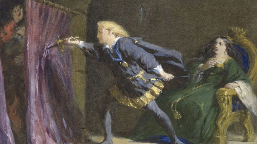 HamletI II-The Performance of Revenge