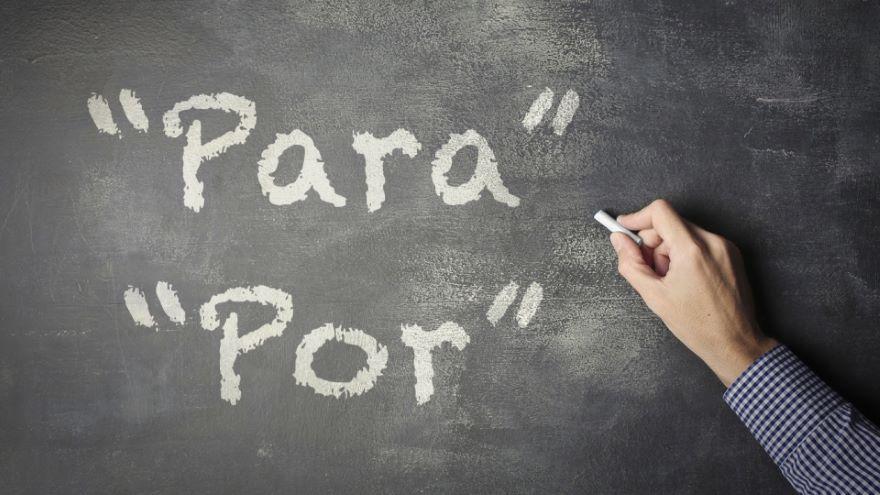 How to Use Para and Por