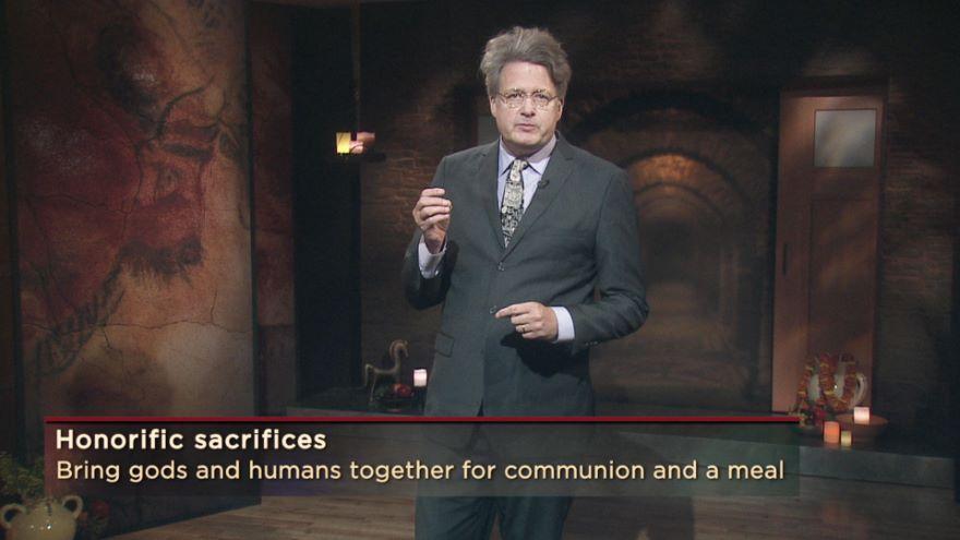 Feeding the Gods: Sacrificial Religion