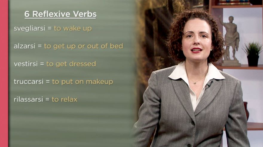Reflexive Pronouns and Verbs / The Marches