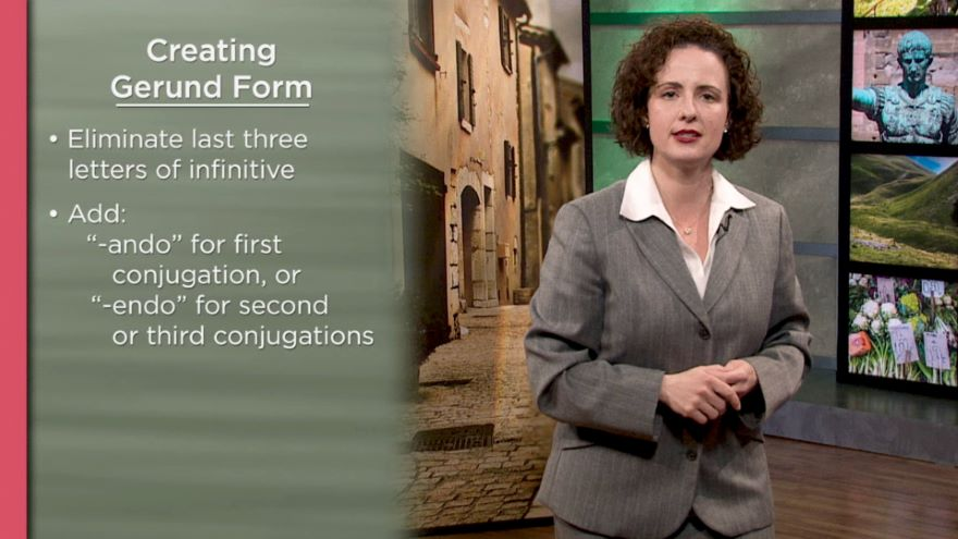 Present Progressive and Suffixes / Piedmont