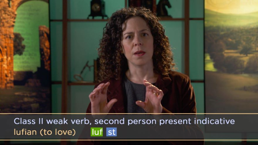 Learning Old English: Weak Verbs