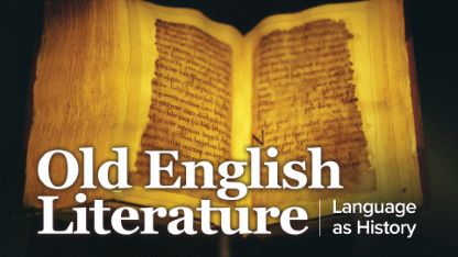 OldEnglishLiterature: Language as History