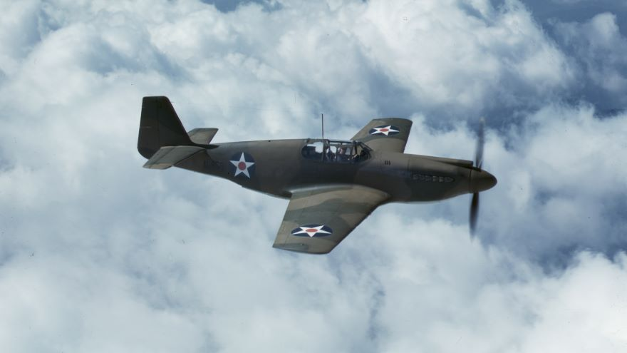 Tommy Hitchcock and the P-51 Mustang