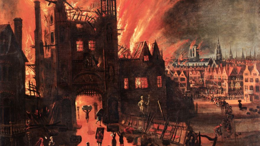 St. Paul's Cathedral in Faith, Fire, and Sin
