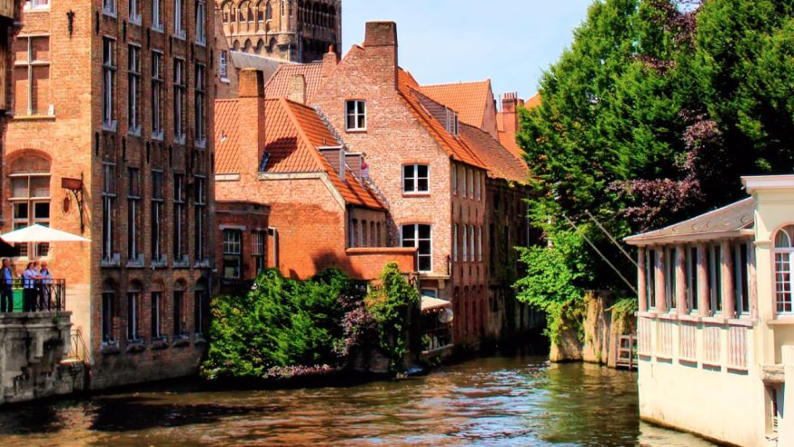 Bruges-Built on the Sea and Trade