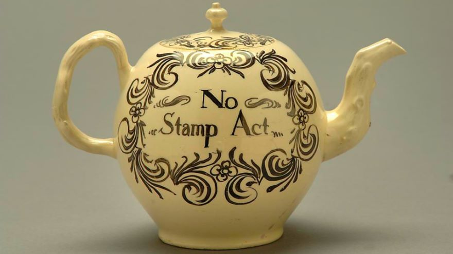 Boycotting the Townshend Taxes