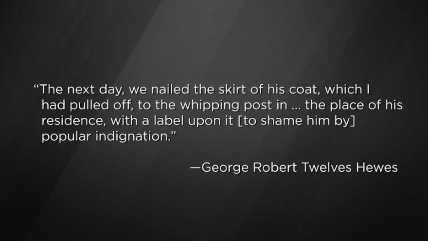 George Hewes: Tea Party Captain