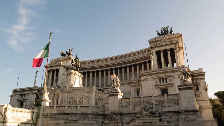 The Capitoline and the Colosseum