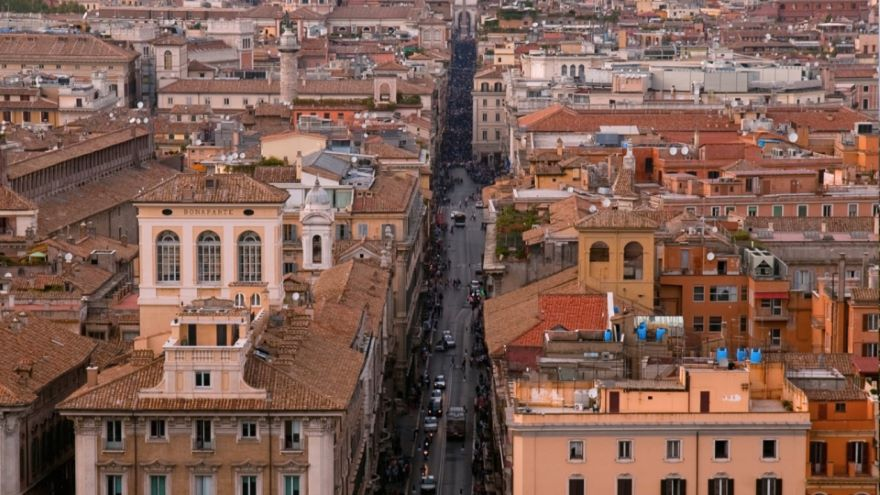 The Via del Corso and Princely Palaces