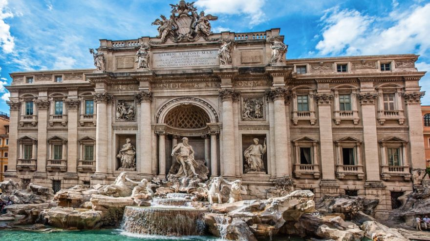 The Trevi Fountain and Baroque Rome