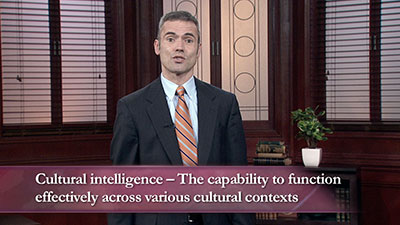 Developing Cultural Intelligence (CQ)