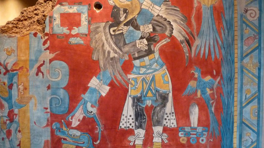 Cacaxtla Murals and Xochicalco